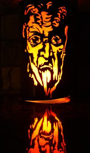 krampus lantern by Rakka