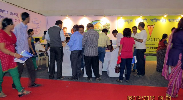 Pune Property Exhibition - Sakal Vastu - Property Expo - December 2012 - 11