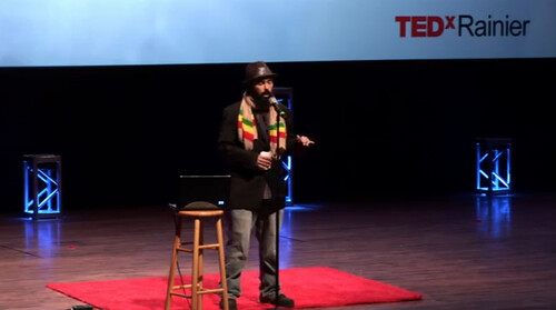 Gabriel Teodros & TEDxRainier Hip Hop & Science Fiction