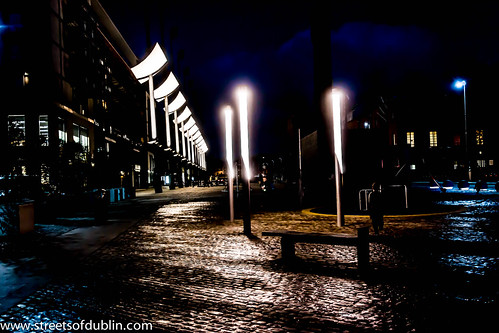Smithfield at Night by infomatique