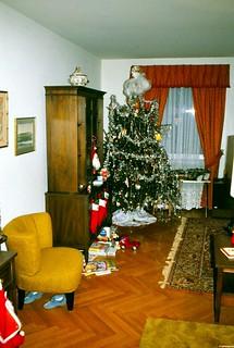 West Germany   -   Crailsheim   -   McKee Barracks   -   Bldg 209 A-5   -   Christmas 1978