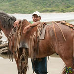 Horse Trainer with his Horse - Morgan's Rock, Nicaragua