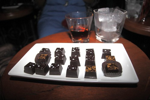 Macallan 18 and Compartes chocolates by Caroline on Crack