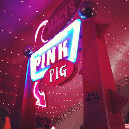 Pink Pig Time!
