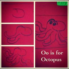 Oo is for Octopus -blogging thru the alphabet w @marcyky  @Benandme #hsmommas #Homeschool