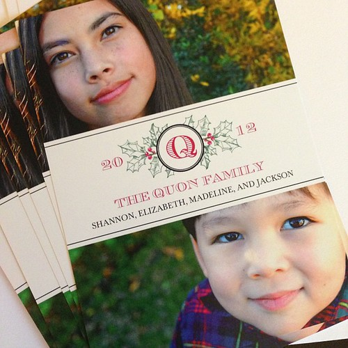 They're finally here and ready to be mailed! Totally worth the wait to see my two most precious ones.