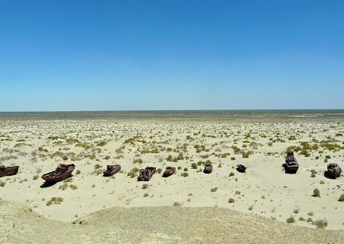 Fotografía del Mar de Aral