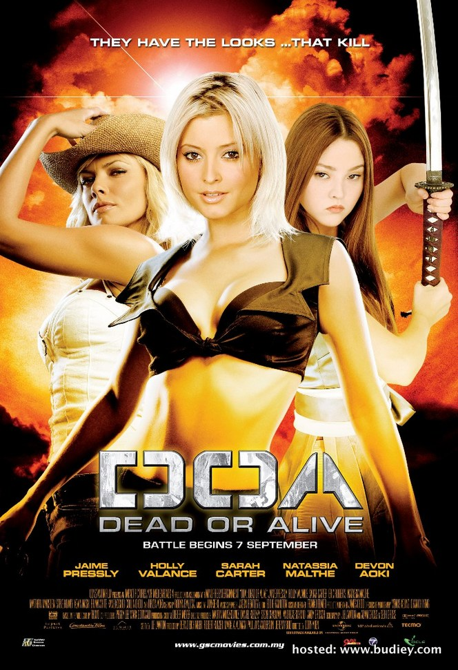 DOA Dead or Alive poster