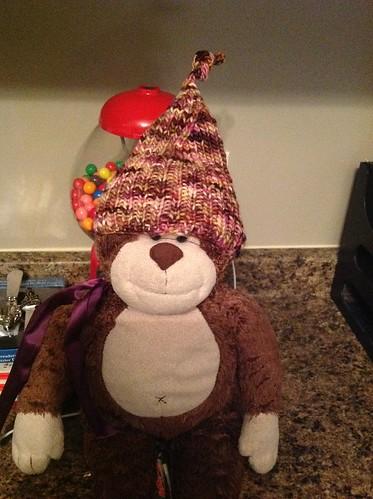Elfin hat by gradschoolknitter
