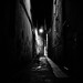 dark alley, fading electric light. by Tunguska RdM