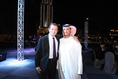 Sandro Rosell and Ali Al Nabooda