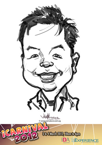 digital live caricature for iCarnival 2012  (IDA) - Day 1 - 48
