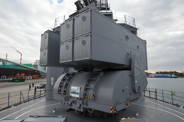 アスロックランチャー - 護衛艦さわゆき