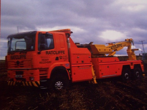 Foden Alpha Recovery Truck, R17 DFR.