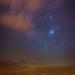Starry night in the desert by Tristan Shu