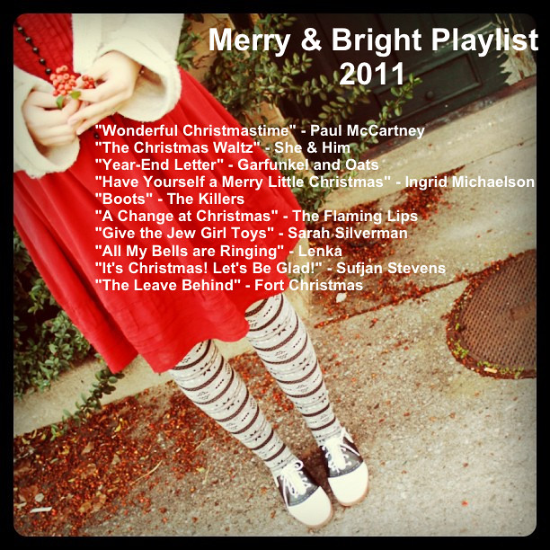 Merry & Bright Playlist 2012