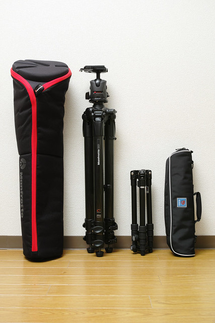 20121222_06_Manfrotto MT057C3 & BENRO A-069M8+B-00