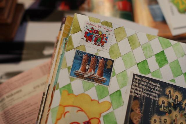 Astrid Lindgren postal stamps