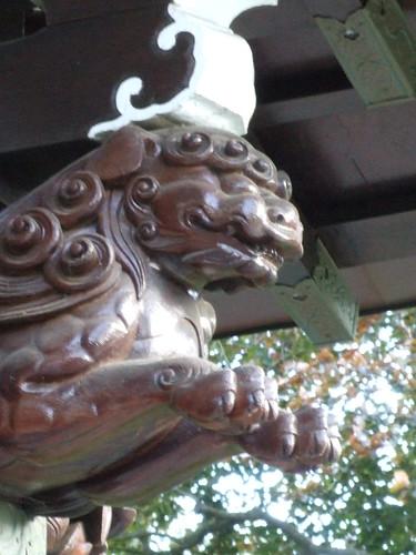 Detail of Chokushi-Mon