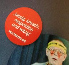 """Geierabend 2012: """"bissig, kreativ, respektlos und witzig"""" (pottblog.de)"""
