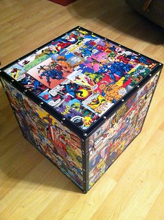 Comic Book Locker Box