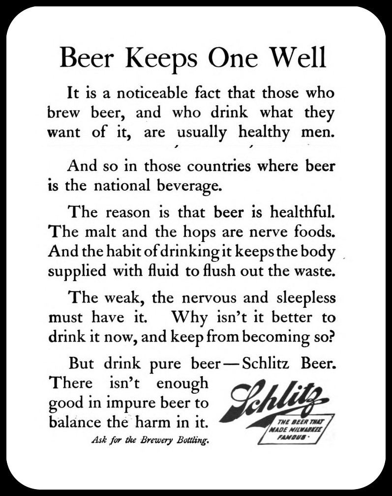 Schlitz-1904-beer-keeps-one-well