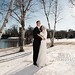 winter wedding by Stephanie Hulthen Photography