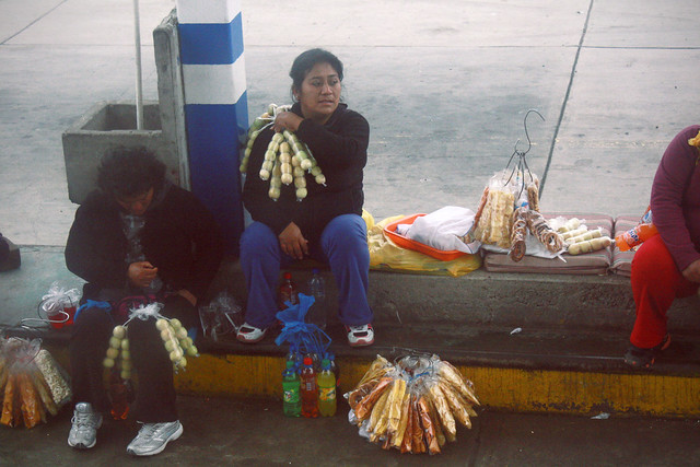 vendedoras ambulantes