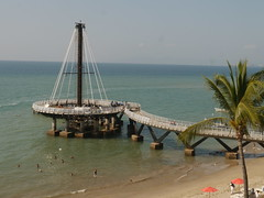 New pier in Puerto Vallarta
