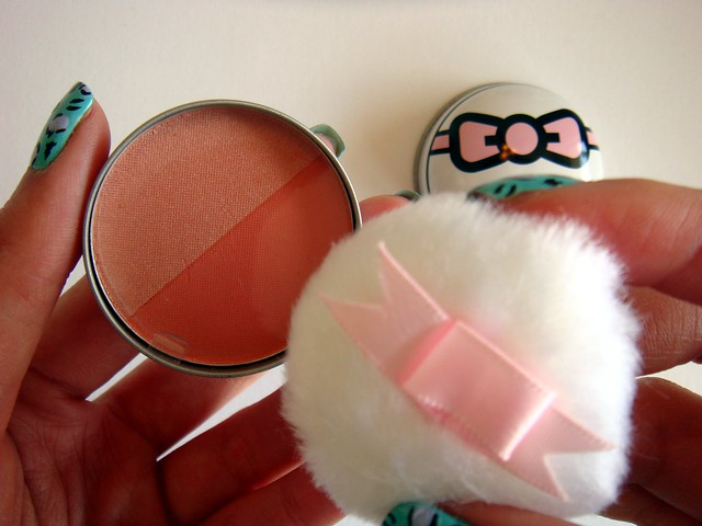 Tokidoki Prisma Gloss in Arlecchino, and Beauty Maker Love Pu Pu Cheek blush