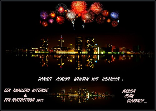 From Almere The Netherlands We Wish Everybody a FANTASTIC 2013 !!!