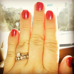 1/365:  Sparkly nails and toes to start off the New Year right. by AuntCharChar