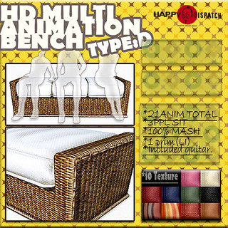 HD MULTI ANIMATION BENCH TYPED