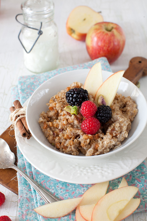 Oats with Apples 1