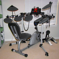 percussion, room, electronic drum, drums, drum, gym, electronic instrument,