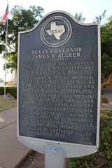James V. Allred, Wichita Falls, Texas Historical Marker
