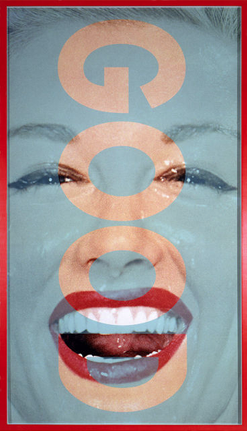 Barbara Kruger, Untitled (GOOD), 2001, Photograph 350x