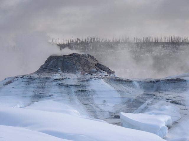 frozen geyser