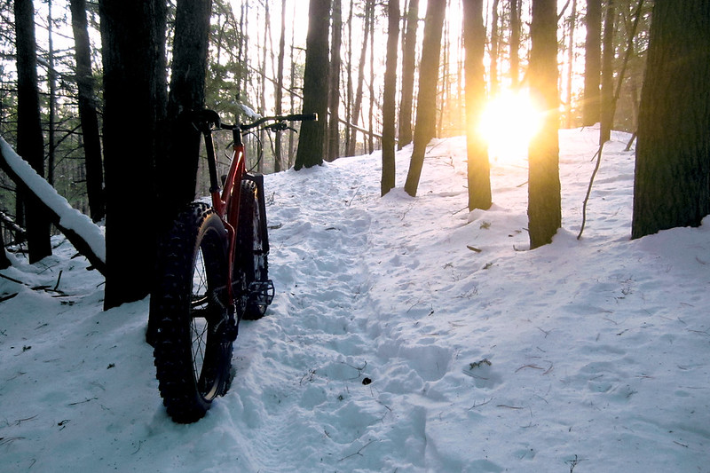 Let's ride some trails...