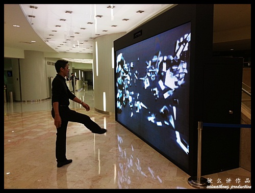 Petmos Interactive Wall @ KLCC Petronas Twin Towers Sky Bridge Visitor's Center