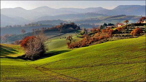San Severino Marche - Colmone by Luigi Alesi
