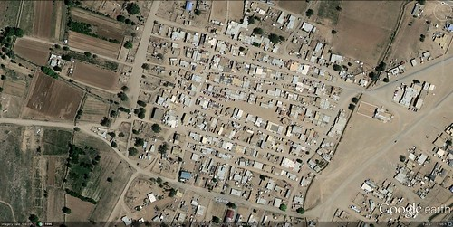 Kewa Pueblo (via Google Earth)
