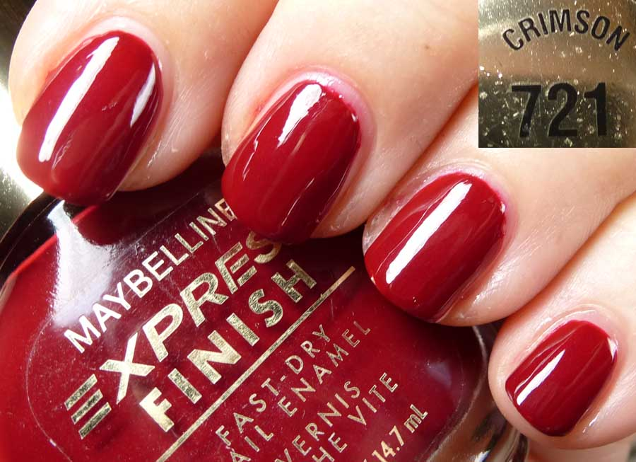 Paillette: a little nail polish journal: Crimson Quartet