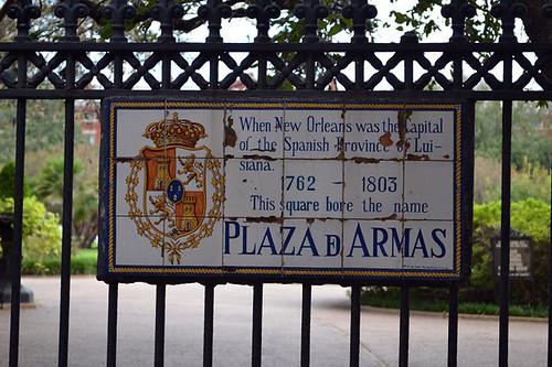 La actual Jackson Square un día fue el centro más importante del imperio español en New Orleans y se llamaba Plaza de Armas Nueva Orleans, ¿French o ... Spanish Quarter? - 8359019480 46e28fc230 - Nueva Orleans, ¿French o … Spanish Quarter?