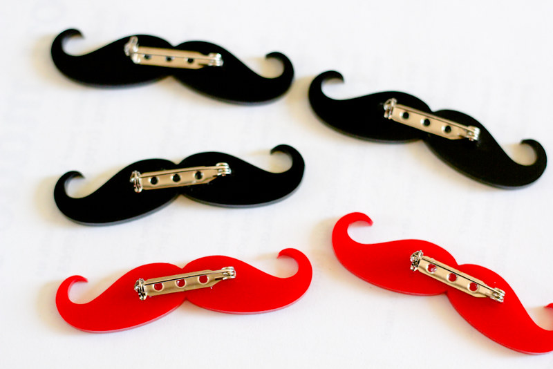 Jan 6: Making moustaches for made.it