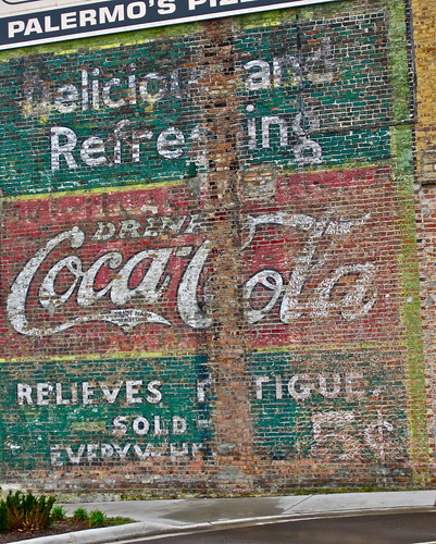Coca-Cola Ghost Sign, Beloit, WI by Robby Virus