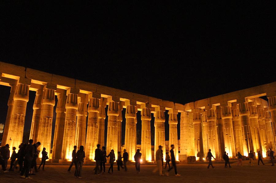 Храм Амона-Ра в Луксоре, Египет