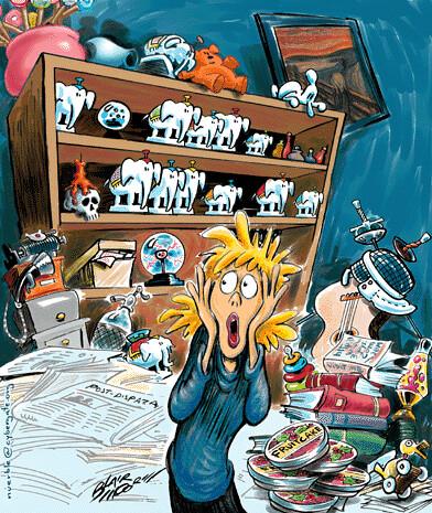 cluttercartoon