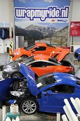 Carwraps ING naamswijzing Alphabet Car Lease