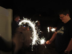event, sparkler, new year's eve,